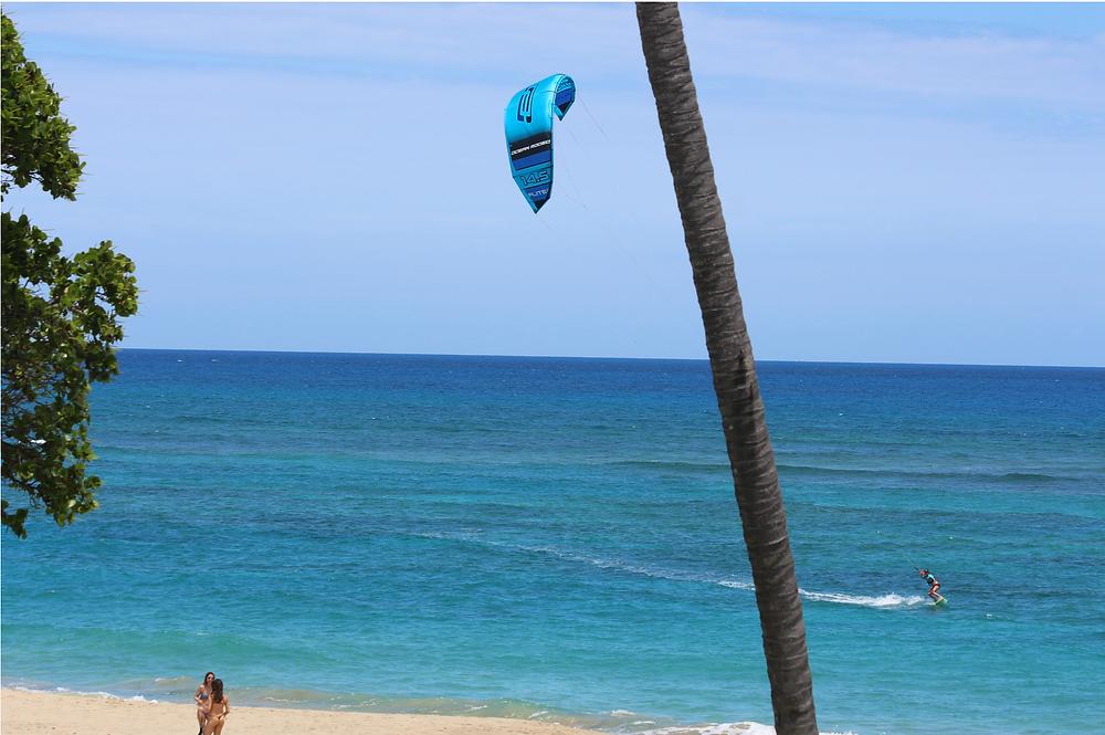 Kiting Cabarete in Light Wind