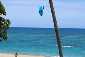 Kiting Cabarete in Light Wind