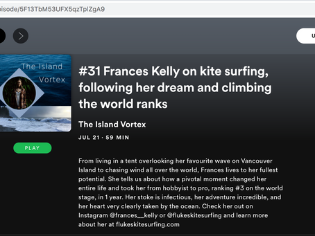 Frances Kelly on The Island Vortex #PODCAST