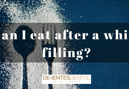 Can I Eat After a White Filling?