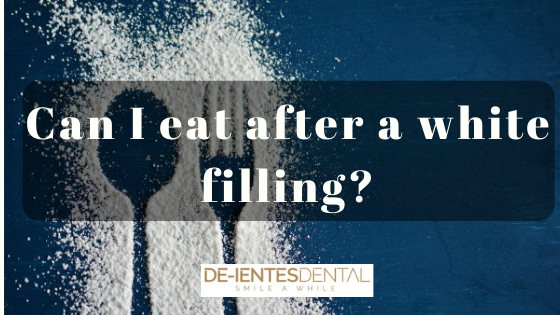Can I Eat After A White Filling