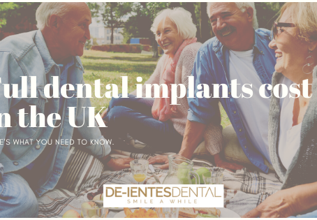 Full dental implants cost in the UK