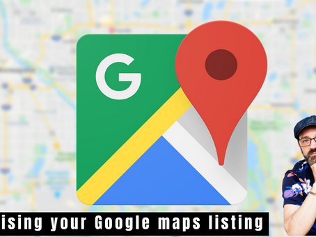 Optimising your Google maps listing