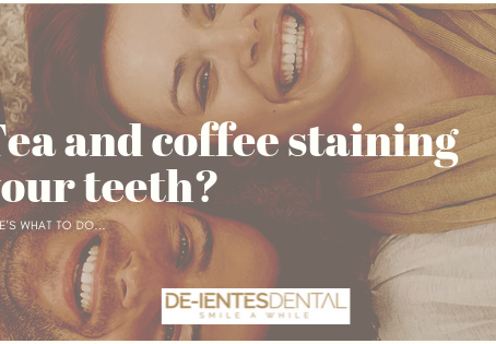 Tea and coffee staining your teeth? Here's what to do...