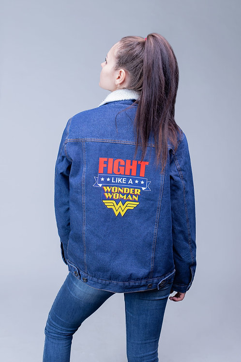 Джинсовая куртка Wonder Woman | DC
