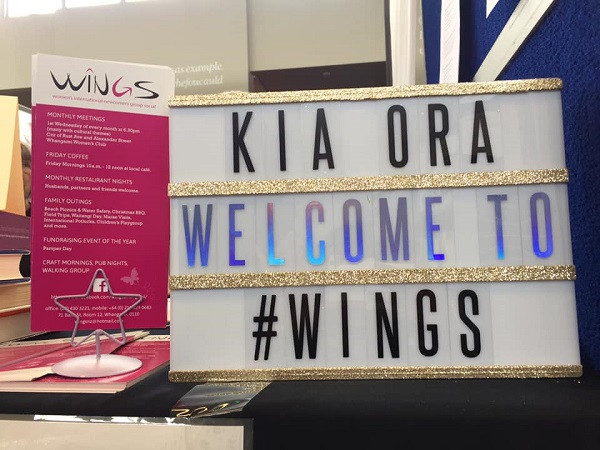 WINGS stall at 'A Big Day in at the Library' on Sept 14, 2019