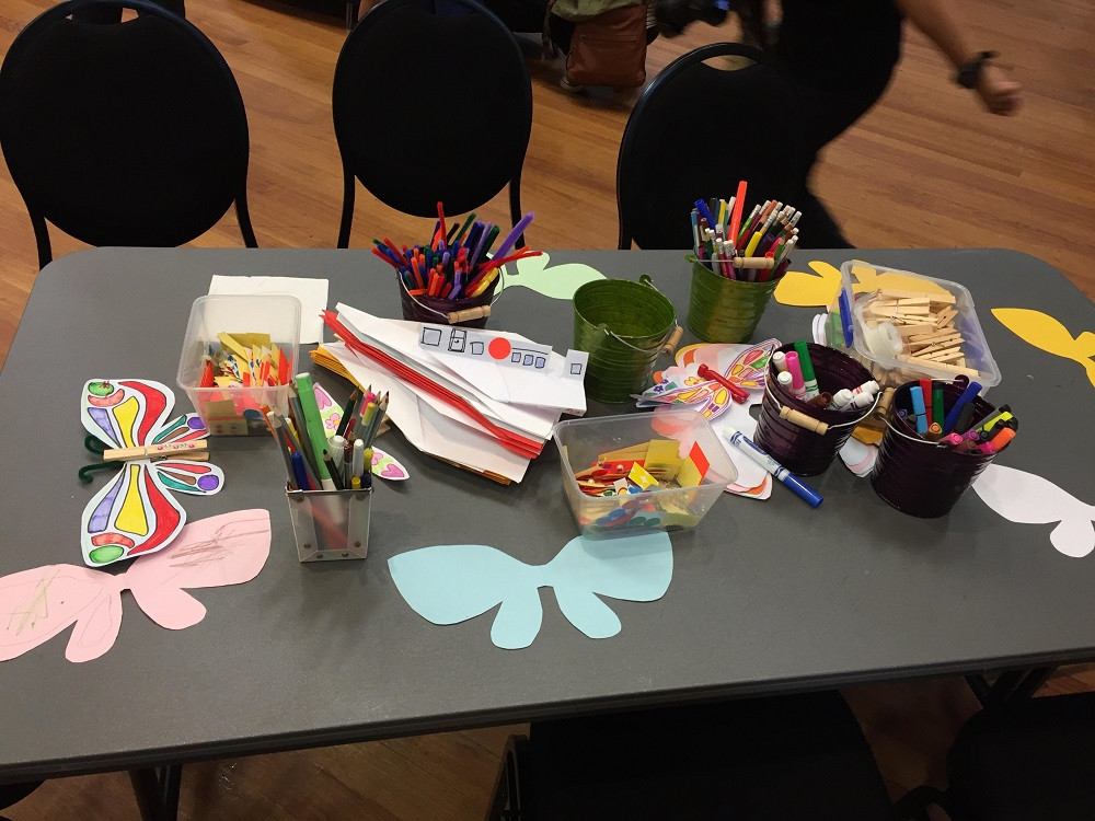 WINGS stall at International Day of Families on 18 May 2019