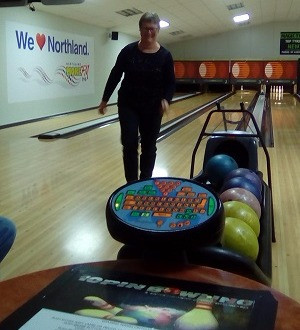 Bowling with WINGS Members