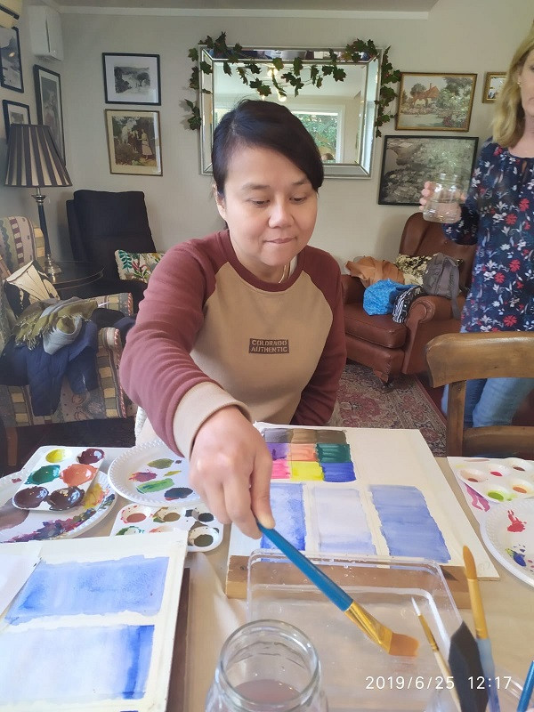 25 Jun 2019 - Introduction to Watercolours