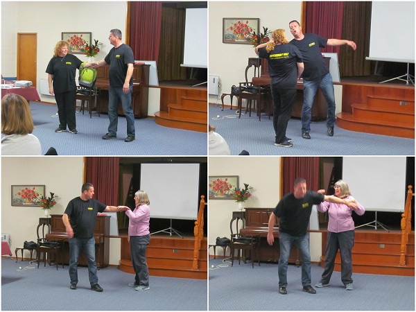 Self Defence at WINGS Theme Night