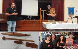 Maori Carving at WINGS Evening