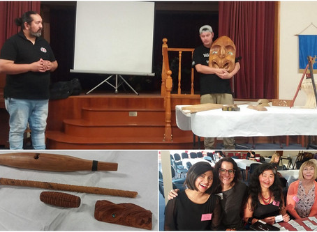 Maori Carving Presentation in WINGS Evening