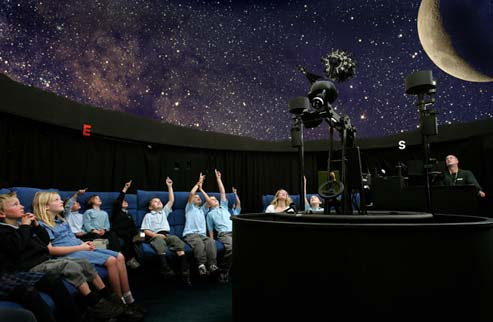 Visit to the Planetarium