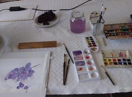 Virtual Watercolour Workshop