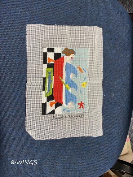 Tapestry by Jackie in lockdown