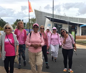 SUPPORTING BREAST CANCER - WALK FOLLOWED BY BREAKFAST (7 May, 2021)