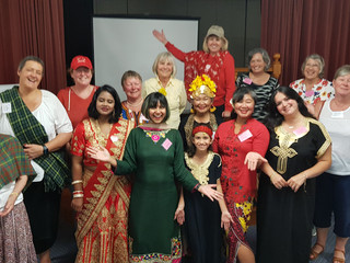 WINGS THEMED MEETING - A Rainbow of Cultures (10 Feb, 2021)