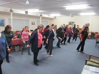 Line Dancing or Rain Dancing