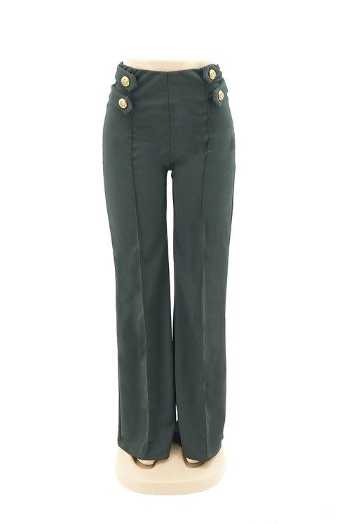 Women's Drawstring Linen Formal Pant
