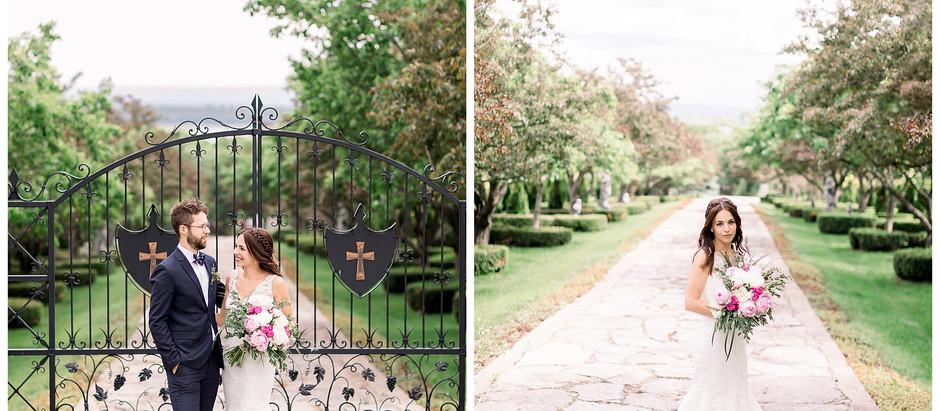 Magnifique séance de mariageà la Seigneurie de l'Ile d'Orléans