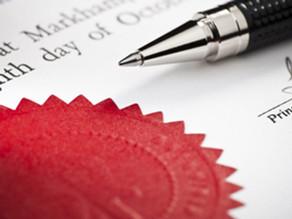 Legal Translation - Notarization Approval