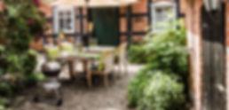 Innenhof Ferienhaus-Abbendorf.de Prignitz