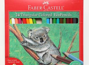 Faber-Castell Triangular Coloured Eco-Pe