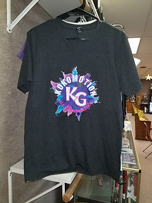 Kokomotion T-shirt Powder Explosion Blac