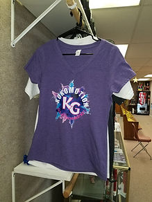 Kokomotion T-shirt Powder Explosion Purp