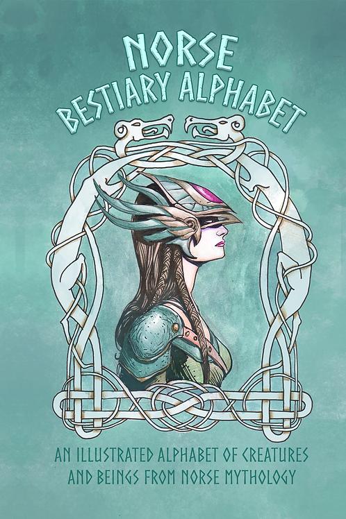 Norse Bestiary Alphabet