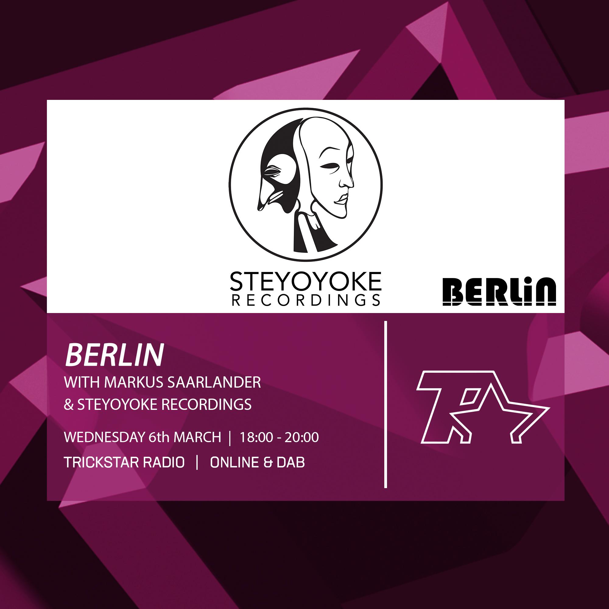 Berlin Steyoyoke Recordings