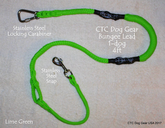 CTC Dog Gear 1-dog Bungee Lead