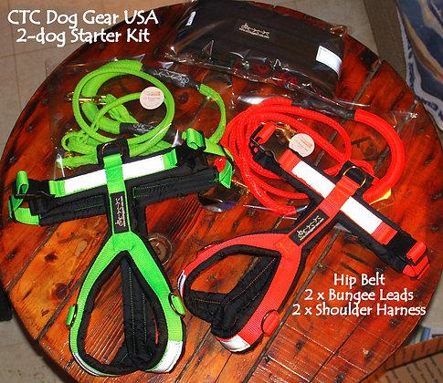 CTC Dog Gear 2-dog Starter Kit