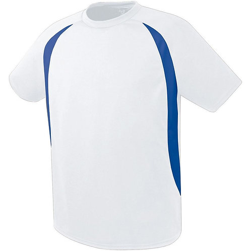 LIBERTY JERSEY White/Royal 220