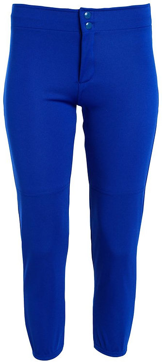 LADIES LOW RISE SOFTBALL PANT Royal Blue 060
