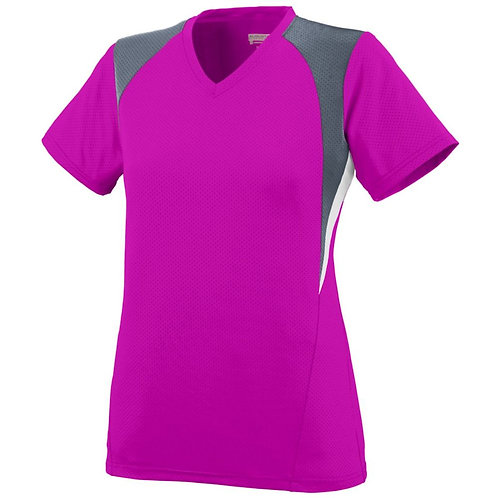 LADIES MYSTIC JERSEY Power Pink/Graphite/White 845