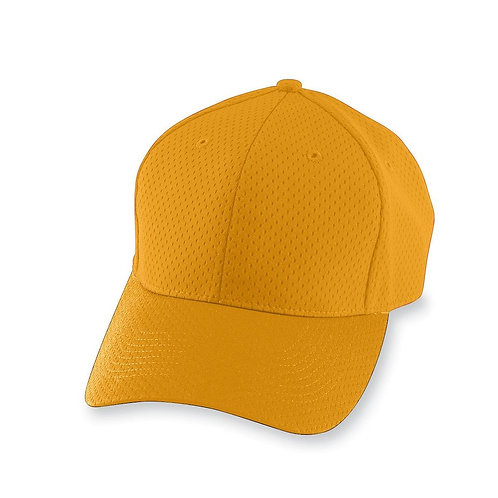 Adult ATHLETIC MESH CAP Gold 025