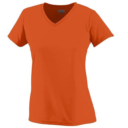 Ladies Wicking T-Shirt Orange 029