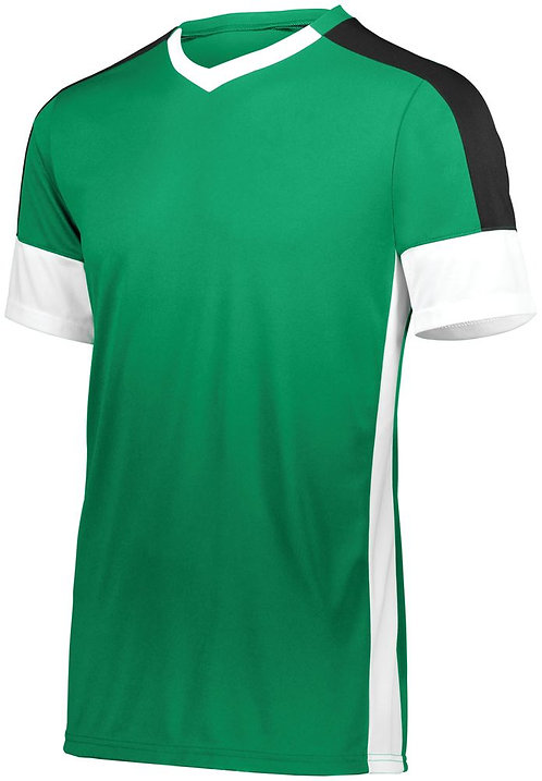 Youth WEMBLEY SOCCER JERSEY Kelly/White/Black 609