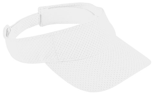Adult ATHLETIC MESH VISOR White 005