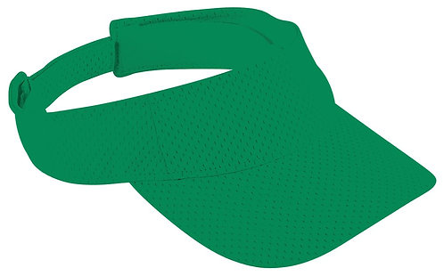 Adult ATHLETIC MESH VISOR Kelly Green 030