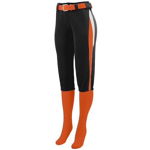 LADIES COMET PANT  Black/Orange/White 611