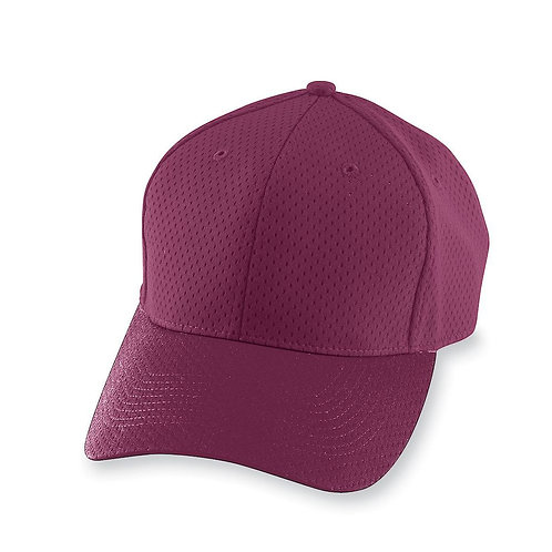 Youth ATHLETIC MESH CAP Maroon 045