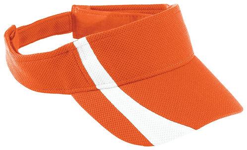 Youth ATHLETIC MESH VISOR Orange/White 320