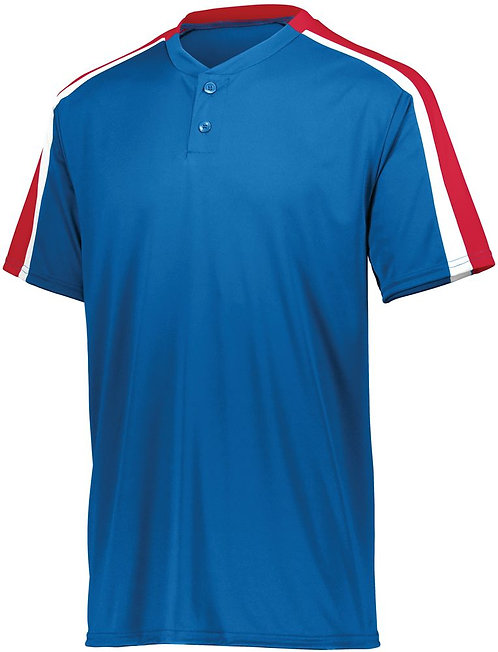 Youth POWER PLUS JERSEY 2.0 Royal Blue/Red/White 115