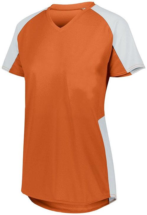 Girl's Cutter Jersey Orange/White 320