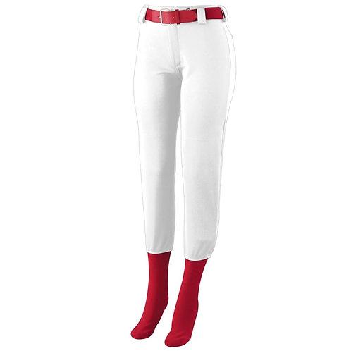 Girls LOW RISE HOMERUN PANT White 005