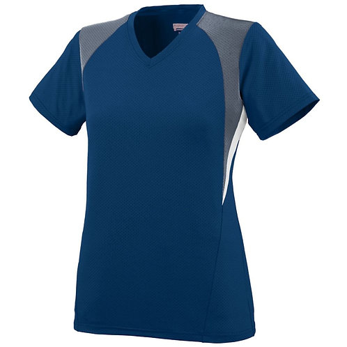 GIRLS MYSTIC JERSEY Navy/Graphite/White 371