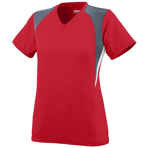 GIRLS MYSTIC JERSEY Red/Graphite/White 397