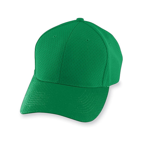 Youth ATHLETIC MESH CAP Kelly Green 030